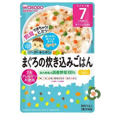 和光堂 嬰兒輔食金槍魚蔬菜粥80g(7個月以上)