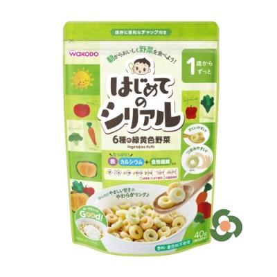 和光堂 幼兒麥片40g - 6種綠黃色蔬菜