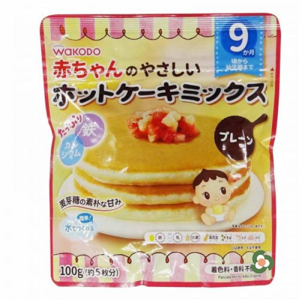 和光堂 嬰兒輔食班戟粉100g-原味(9個月)