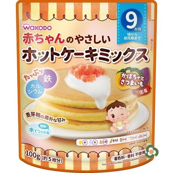 和光堂 嬰兒輔食班戟粉100g-南瓜紅薯(9個月)