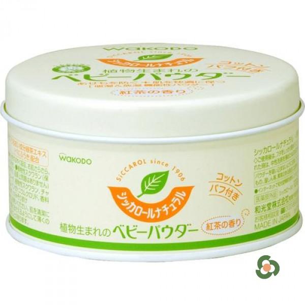 和光堂 罐裝BB綠茶爽身粉120g