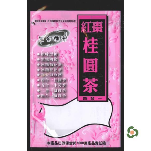黑金傳奇-黑糖紅棗桂圓茶 (480g)