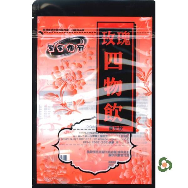 黑金傳奇-黑糖玫瑰四物飲  (480g)