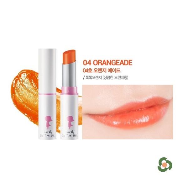 自然雅達 迷漾潤彩蜜唇膏  #4 橘子