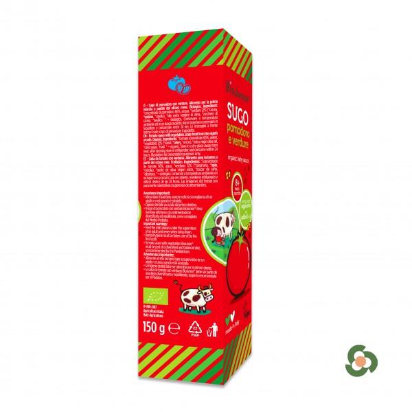 義大利Biojunior輔食拌拌醬200g(8月以上)