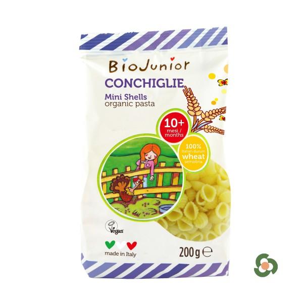 義大利Biojunior小貝殼麺200g(10月以上)