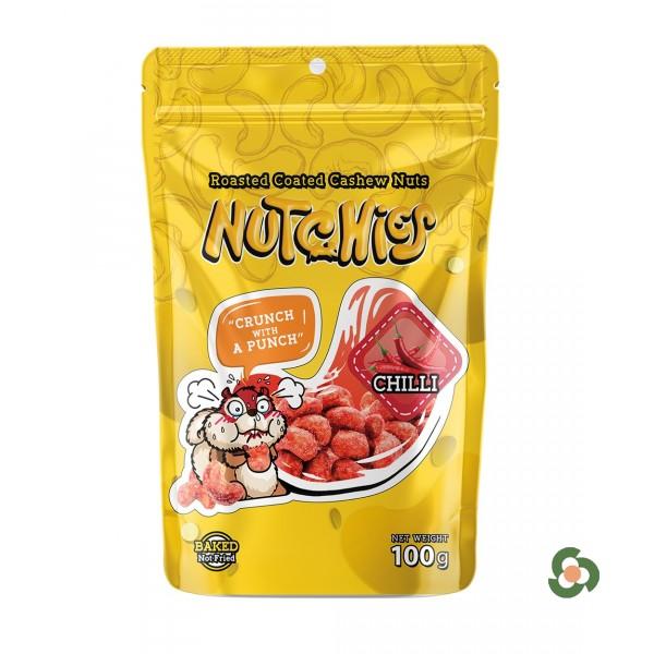 Nutchies 樂脆腰果-辛辣風味100g