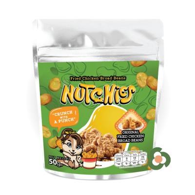 Nutchies 樂脆蠶豆-炸雞風味50g