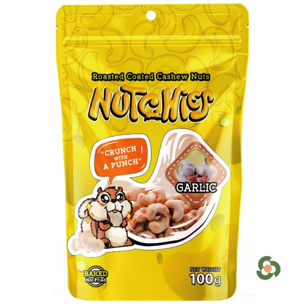 Nutchies 樂脆腰果-惹味香蒜風味100g