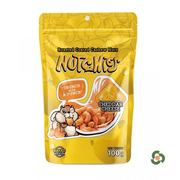 Nutchies 樂脆腰果-車大芝士風味100g