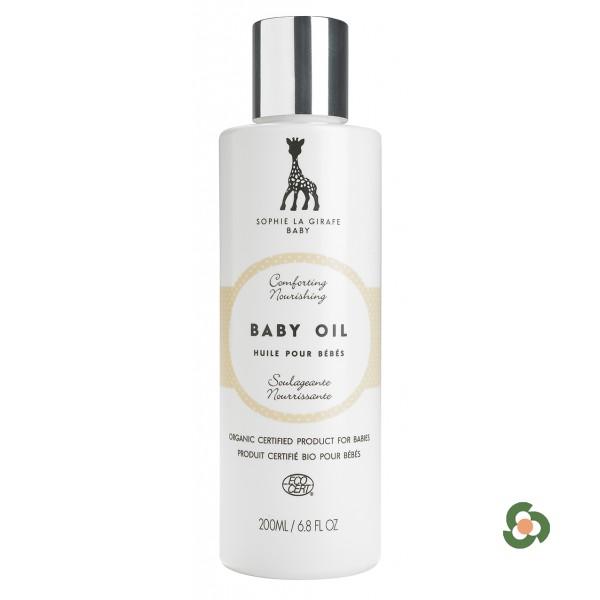 法國蘇菲長頸鹿  天然有機嬰兒潤膚油 200ml