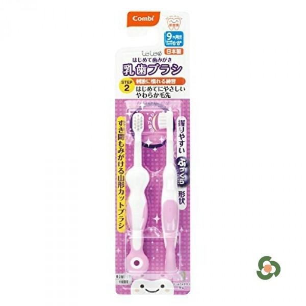 Combi 康貝teteo訓練牙刷STEP2(6到8顆牙用)