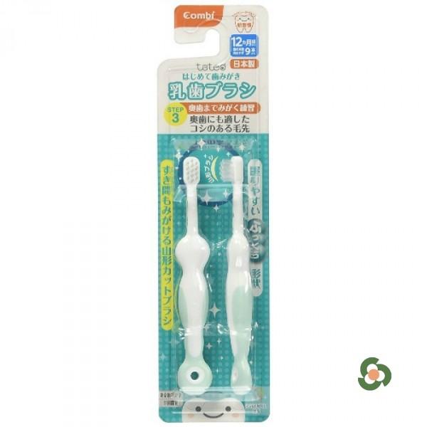 Combi 康貝teteo訓練牙刷STEP3(9顆以上牙用)