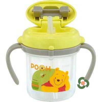 Combi 康貝嬰兒吸管式水杯(維尼款) 200ml