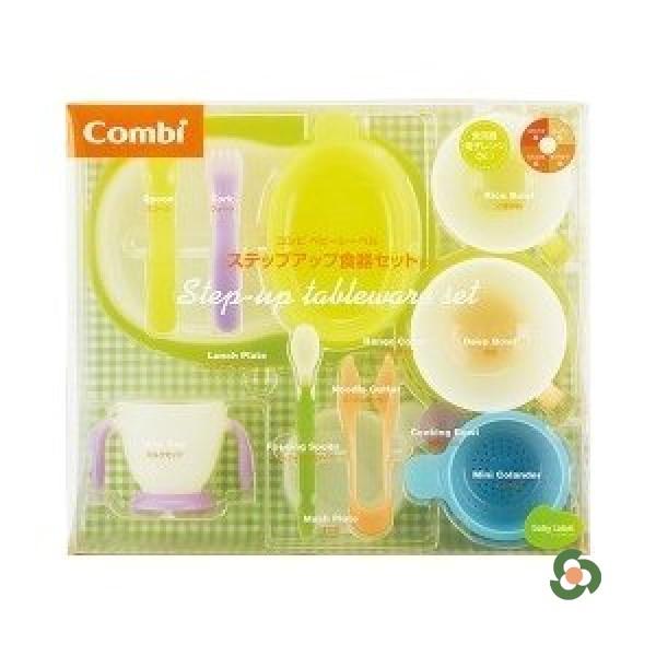 Combi 康貝幼兒餐具全面料理套裝