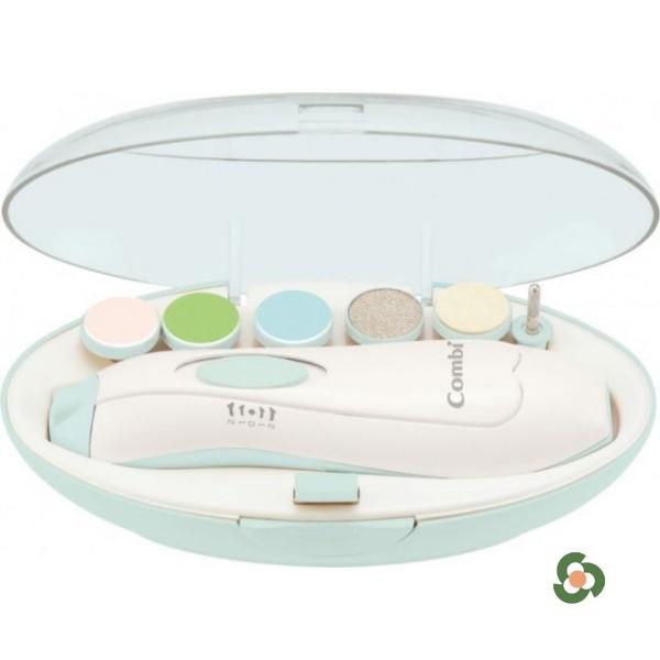 Combi 康貝電動嬰兒指甲護理器套裝(薄荷色)