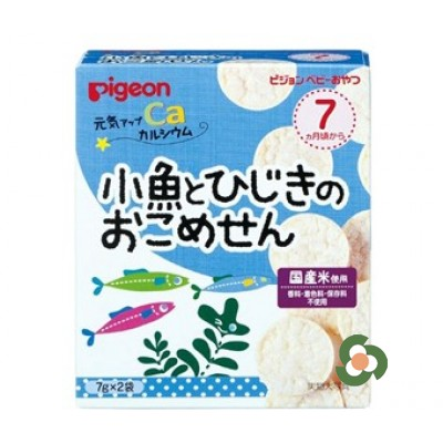 Pigeon 海藻小魚脆餅(7個月以上)