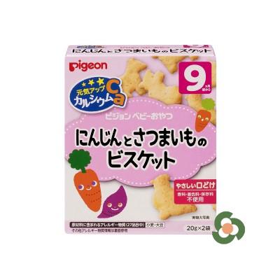 Pigeon 高鈣胡蘿蔔紅薯餅乾