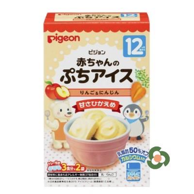 Pigeon 蛋糕方塊 蘋果胡蘿蔔味(12個月以上)