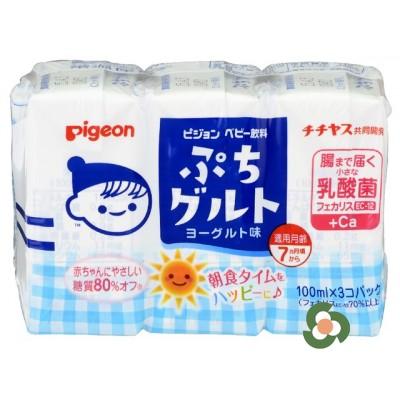 Pigeon 低糖分嬰兒乳酸菌飲料