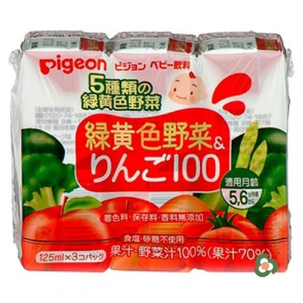 Pigeon 胡蘿蔔&蘋果汁