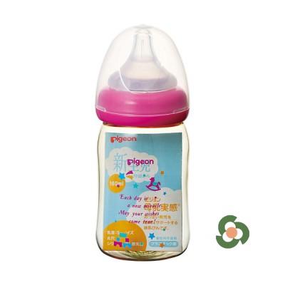 Pigeon PPSU闊口奶瓶160ml (玩具款)
