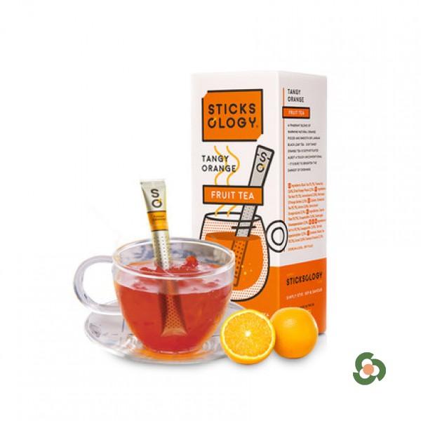 香濃柳橙味紅茶茶棒15枝裝