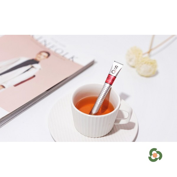 濃情草莓果味紅茶茶棒15枝裝