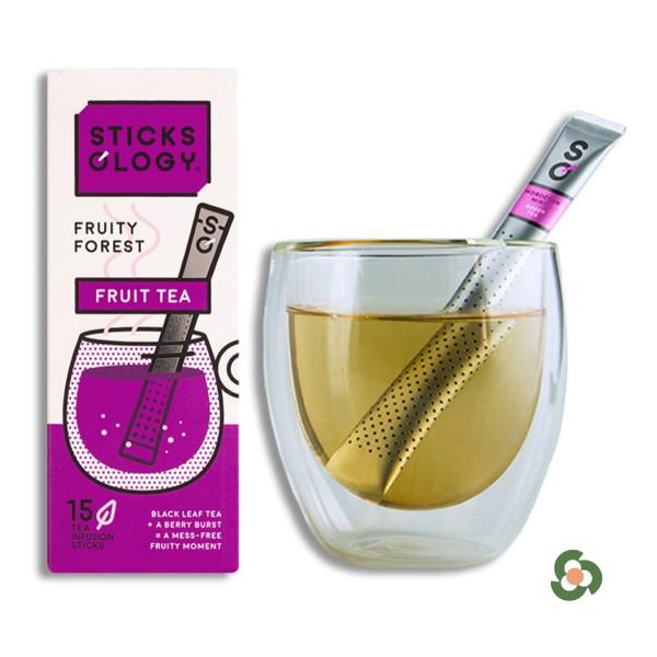 森林水果味紅茶茶棒15枝裝